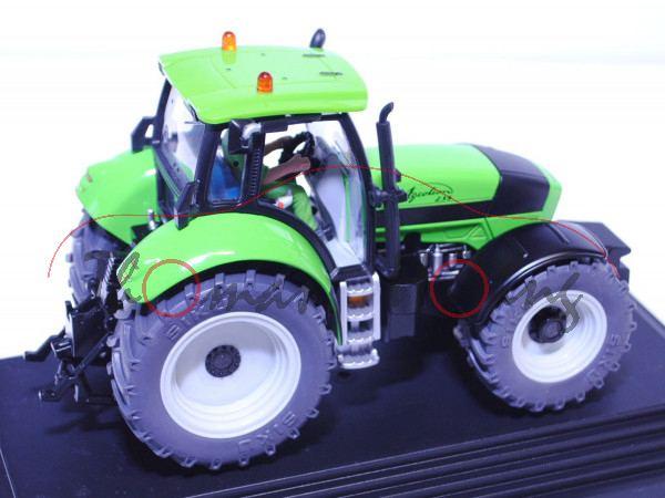 Deutz Agrotron 235, gelbgrün/schwarz, mit vielen Drucken und Detailaufwertungen, SIKU FARMER+, 1:32,