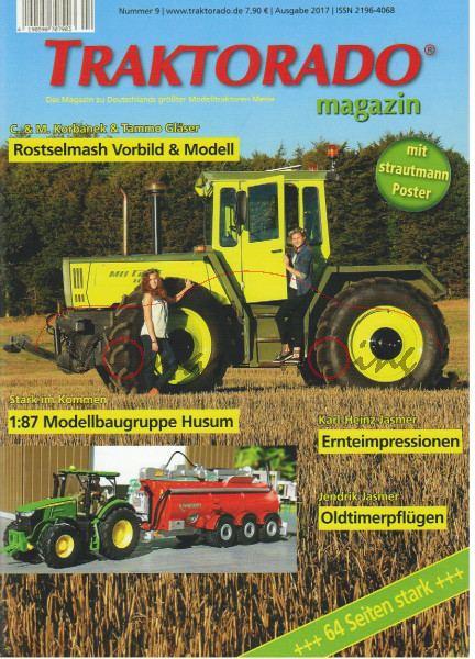 TRAKTORADO® Magazin, Nummer 9, Ausgabe 2017, ROSTSELMASH, CLAAS & RENAULT Modelle, TRAKTORADO 2015 R