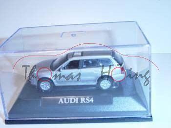 Audi RS4 Avant, Mj 2000, silber, Yat Ming, 1:72, mb