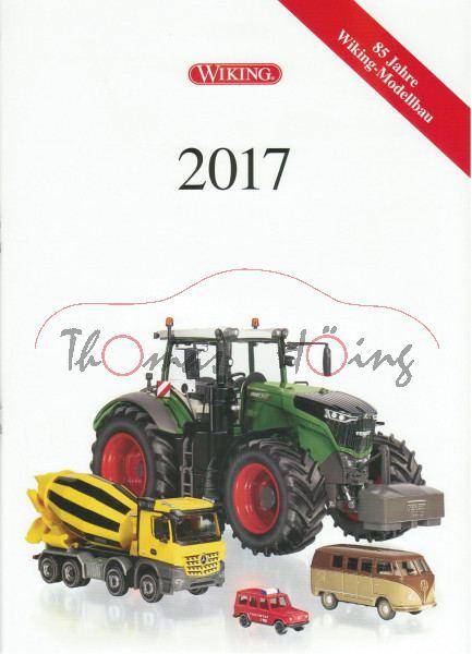 Wiking Katalog 2017 DIN A4, 40 Seiten, Wiking