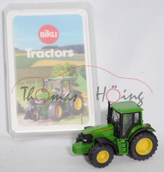 00600 GB Tractors Quartett mit John Deere 6920 S (Mod. 2001-2006), grün, SIKU SUPER / TOPP ASS, P28b