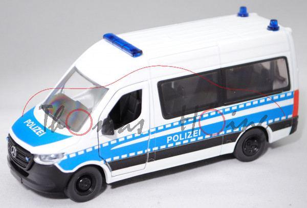 00000 Mercedes-Benz III Tourer (VS30, Mod. 2018-) 319 CDI Bundespolizei, weiß/blau, POLIZEI, L17mpK