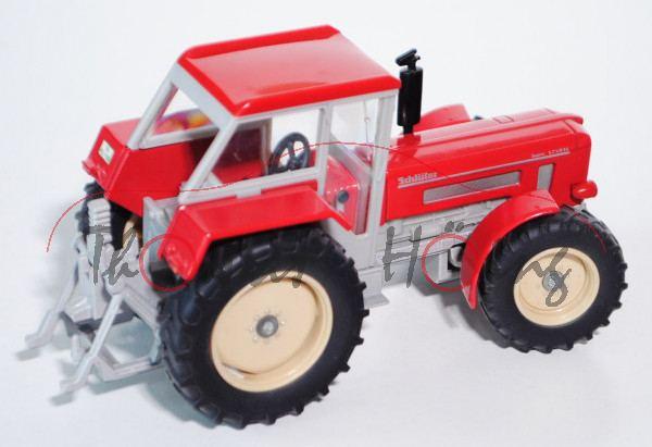 00000 Schlüter Super 1250 VL, karminrot, Fehldruck: SCHLÜTER steht hinten, ohne Fahrer