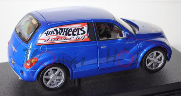 Chrysler Panel Cruiser Concept, Modell 2000, ultramarinblaumetallic, North American International Au