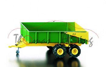 Wannenkipper, grün/gelb, neue weiche Reifen, L15