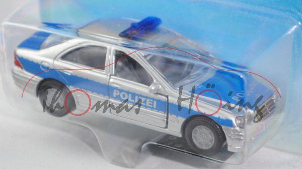 00004 Mercedes-Benz C 320 (Baureihe W 203, Mod. 00-04) Peterwagen, weißaluminiummetallic/hell-verkeh
