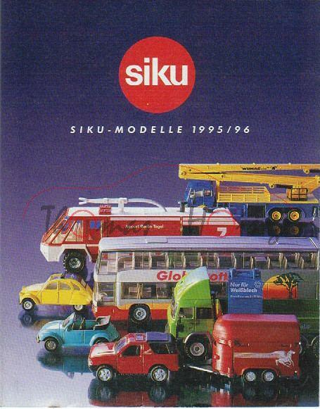Verbraucherprospekt / Katalog 1995/96, 32 Seiten, 11,6 x 14,7 cm