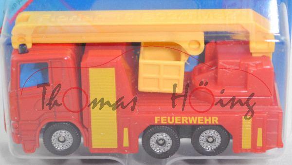 00000 Rosenbauer Hubrettungsbühne B32 auf Scania R380 (CR16) Fahrgestell, rot, FEUERWEHR, C36, P29e