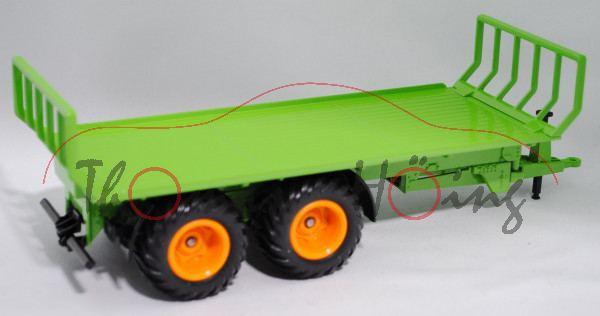 Ballentransportanhänger, gelbgrün, L17mP