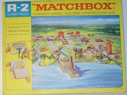 Building Construction Site, Matchbox Roadway Series, mb