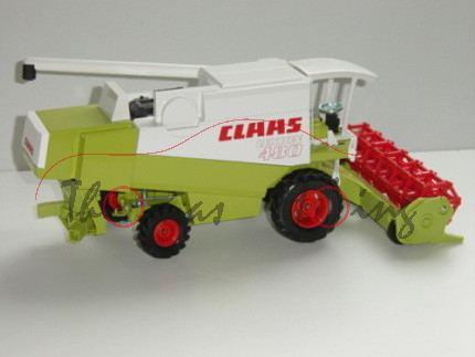 Claas Lexion 480 Mähdrescher, claasgrün/weiß, Mähwerk rot, L15