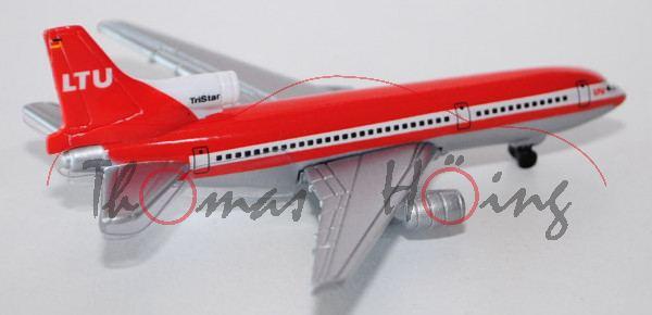 Lockheed L-1011-385-3 TriStar 500 (Dreistrahliges Großraumflugzeug, Modell 1976-1983), verkehrsrot/s