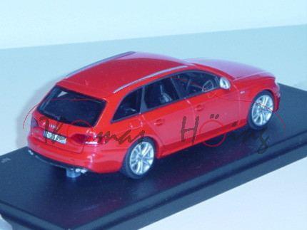 Audi S4 Avant Mj 2010, misanorot, Looksmart Models, 1:43, Werbeschachtel, limitierte Auflage!! (Hand