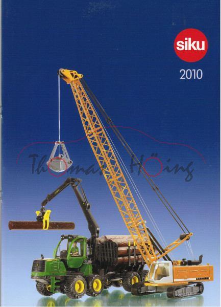 Siku-Katalog 2010, DIN-A4