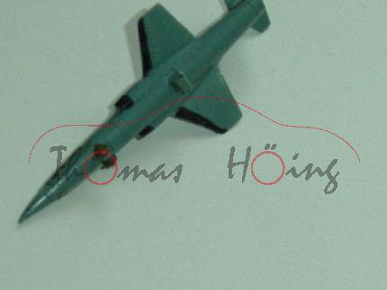 Lockheed F 104, Starfighter, Bundeswehr / S 104, hintere Räder weg, 1:250, ohne Zettel, mb