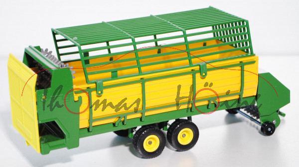 Automatischer Heuladewagen, smaragdgrün/gelb, L15