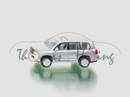 00000 Toyota Land Cruiser V8 (Typ J20), Modell 2008-2012, silbergraumetallic, innen basaltgrau, Lenk
