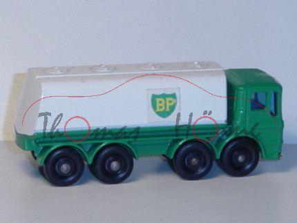 Leyland Petrol Tanker, minzgrün/weiß, BP, Matchbox Series