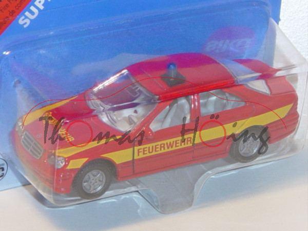 Mercedes-Benz C 320 (Baureihe W 203, Modell 2000-2004) Feuerwehr-Einsatzleitwagen, hell-karminrot, i