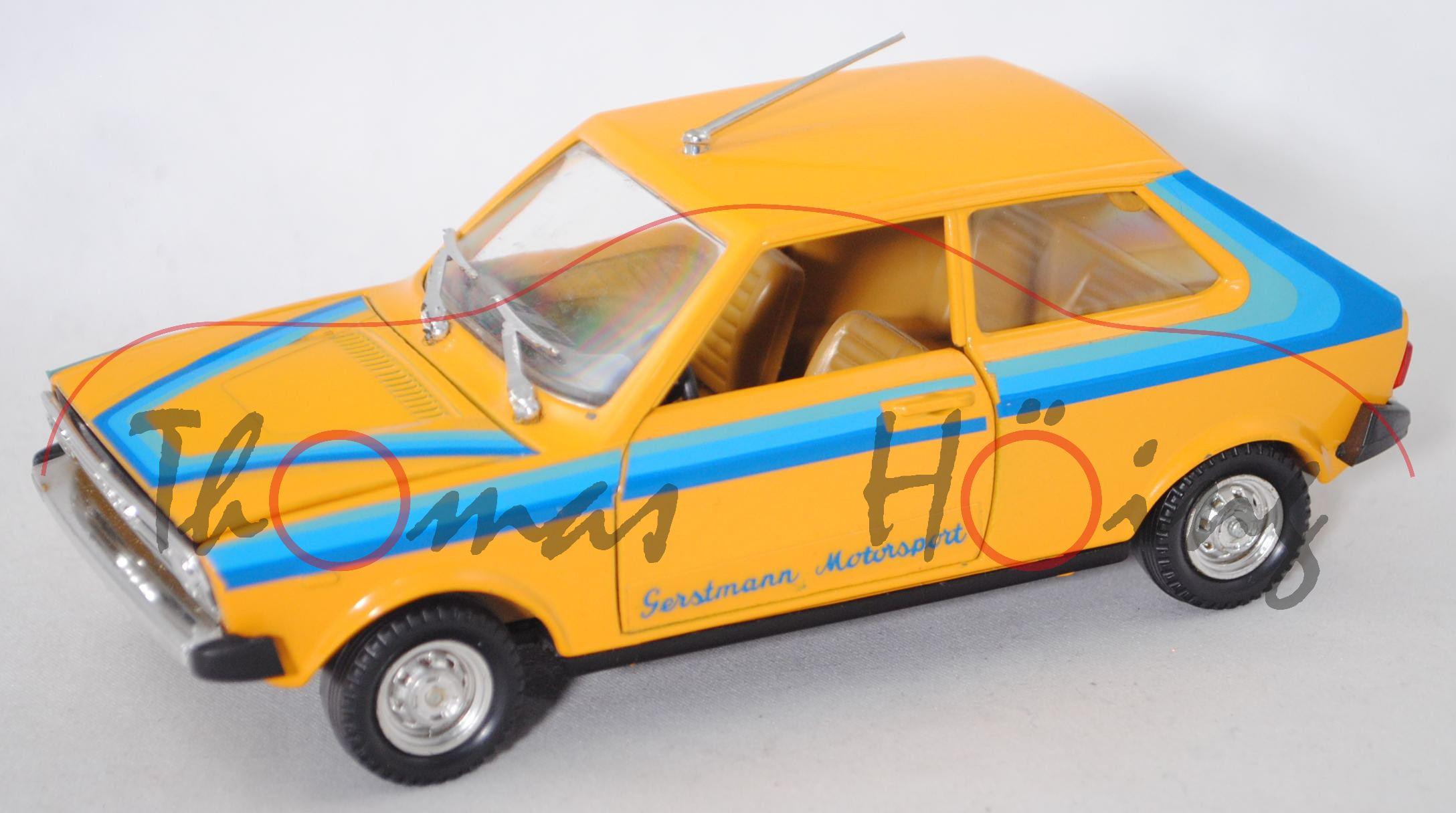 Audi 50 LS (Typ 86, Modell 1974-1978), hell-chromgelb ...