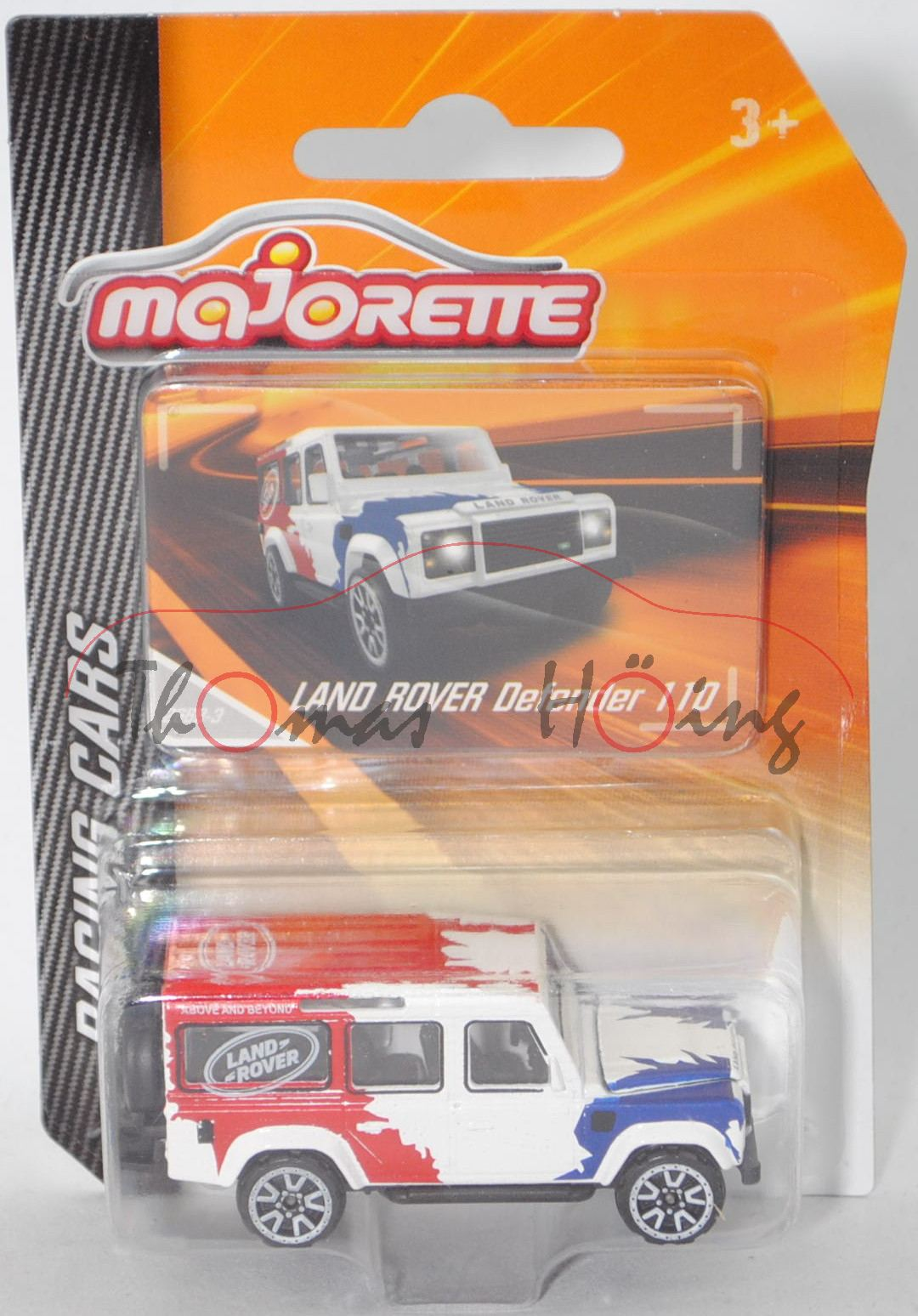Majorette RACING 212084009 Ford Mustang GT FORD Racing School weiß