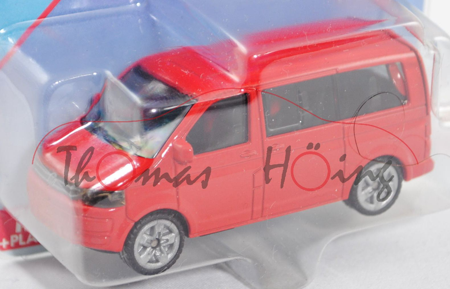 1:61 ca Typ 7H Siku Super 1070 VW T5 facelift Multivan 2.0 TDI
