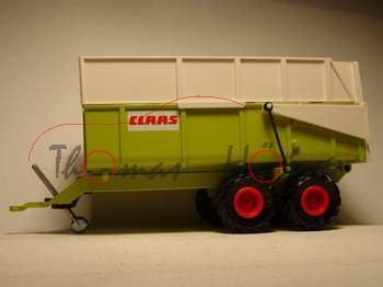 Claas-Muldenkipper,claasgrün, CLAAS