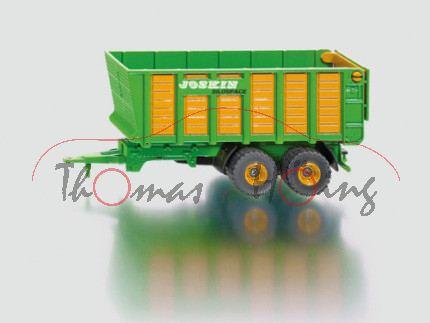 Silagewagen, gelbgrün/orange, JOSKIN / SILOSPACE, 1:50, L17