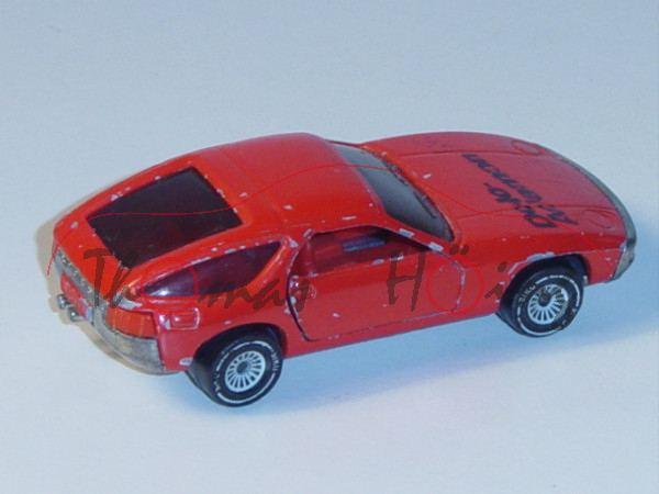 Porsche 928, Modell 1977-1982, verkehrsrot, Verglasung rauch, B4, Dolo- / Adamon N, Türanschlag rech