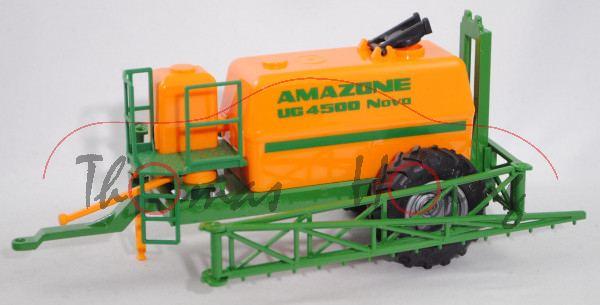 00000c Hänger-Feldspritze, Tank orange, AMAZONE UG 4500 Nova, SIKU FARMER 1:32, L15nmp