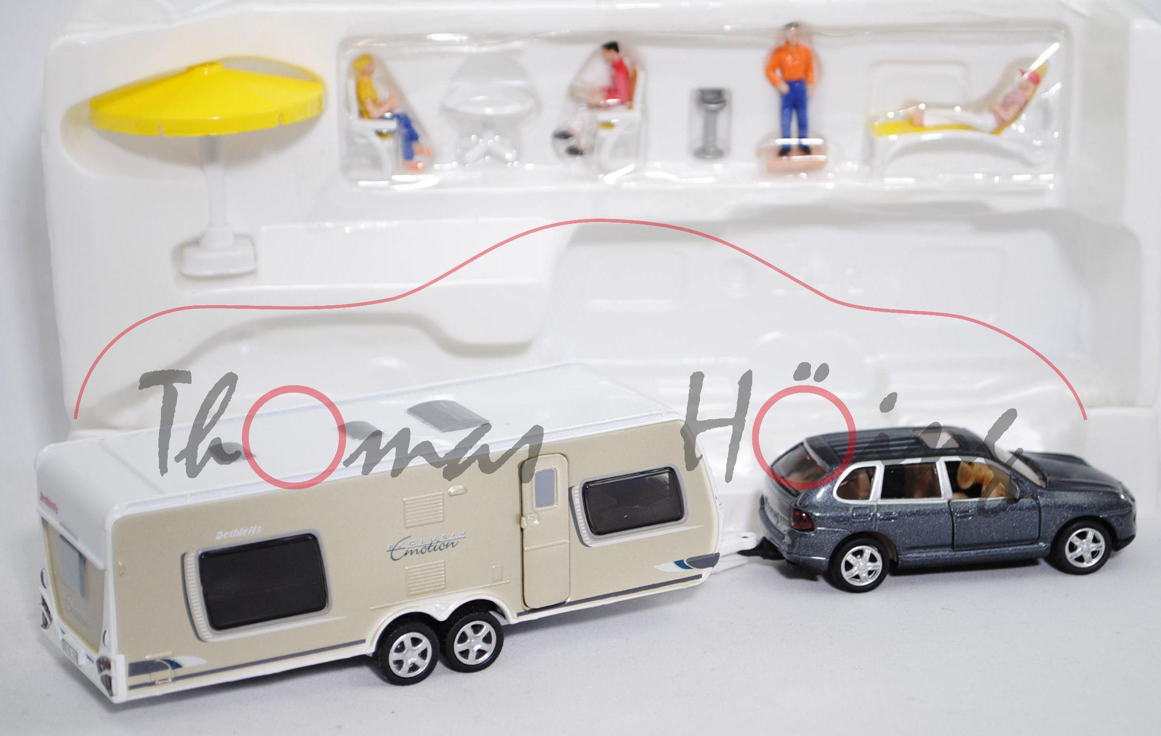 00001 porsche cayenne turbo mit dethleffs exclusive. Black Bedroom Furniture Sets. Home Design Ideas