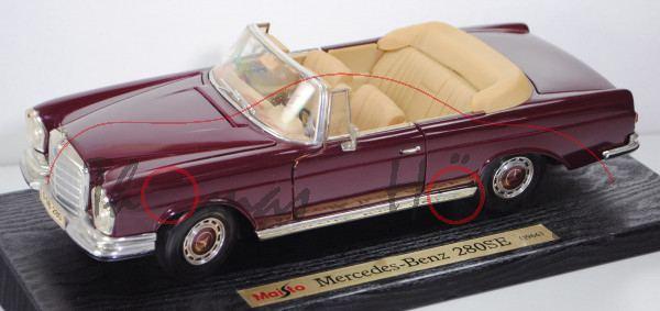 50224-mercedes-280-se-cabriolet-weinrot-maisto-118-mb1