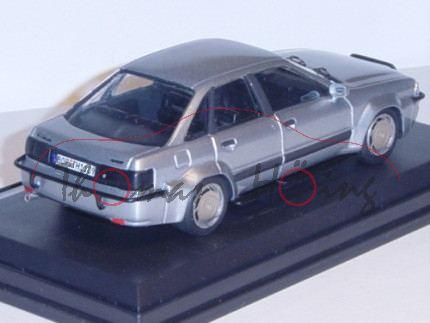 Treser Audi Hunter Typ 89, silber, 1:43, Automodelle Höing, mb, Handarbeitsmodell, limitierte Auflag