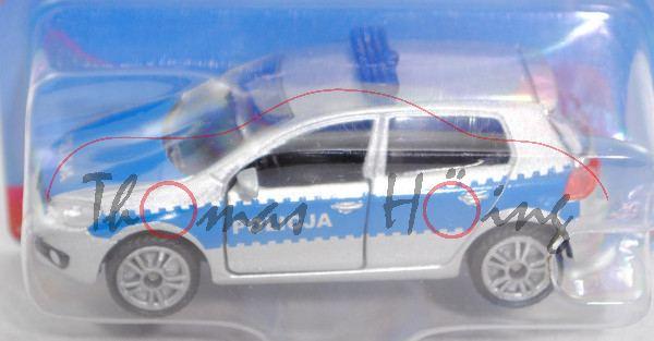 06000 PL VW Golf VI 2.0 TDI (Typ 1K, Mod. 08-12) Patrol Car, silber, POLICJA, P29e (Limited Edition)