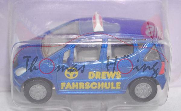 00000 Mercedes-Benz A 160 (Baureihe W 168, Mod. 97-01) Fahrschule, violettblaumetallic, P26