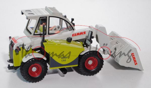 Claas Targo, claasgrün/dunkel-kieselgrau, CLAAS, L17mpK