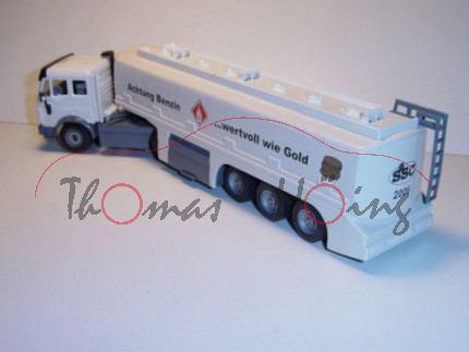 Mercedes TOPAS-Tankzug, weiß/grau, Benzin so wertvoll wie Gold / SSC 2006, L15