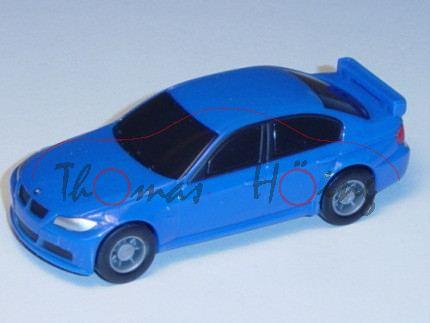 BMW 320 Si, blau, Pullback, 1:64, Minichamps