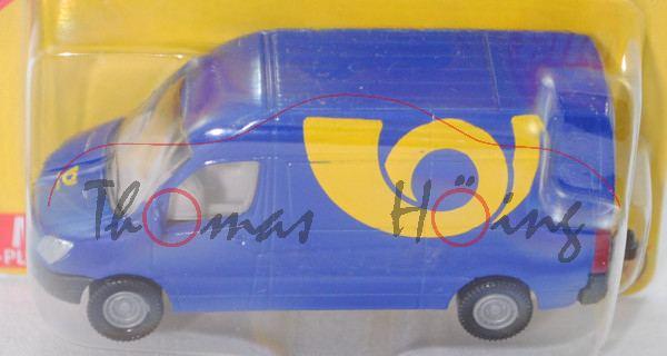 06101 CZ MB Sprinter II (NCV 3, W 906, Mod. 06-13) Postwagen, blau, Posthorn / Ceská posta, Werbebox