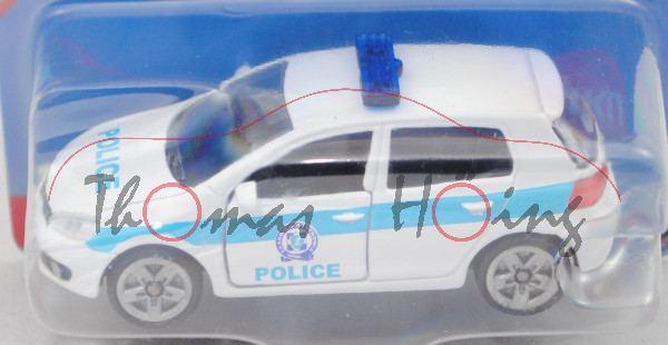 00900 GR VW Golf VI 2.0 TDI (Typ 1K, Modell 08-12) Patrol Car, weiß, POLICE, P29e (Limited Edition)