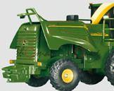 John Deere 7500 Maishäcksler, smaragdgrün/gelb, L16nmp