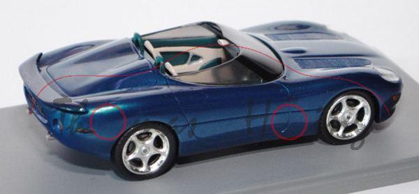 Jaguar XK 180 Concept Car, Modell 1998, blaugrünmetallic ...