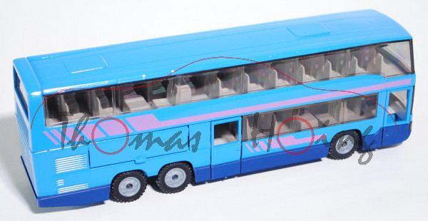 Streifen blau Mercedes-Benz O 321 H Stadtbus