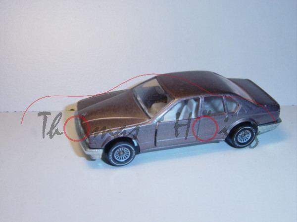 BMW 735 iL, broncitmetallic, innen weiß, Lenkrad weiß, B4, P23