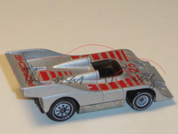 00001 Porsche 917/10 TC (TurboCharged, CanAm-Prototyp, Modell 1972), silbergraumetallic, innen schwa