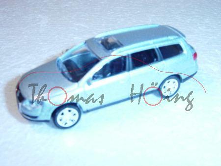 VW Passat Variant, blausilbermetallic, 1:50, Norev SHOWROOM, mb