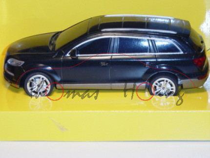 Audi Q7, Mj 05, schwarz, mit Fernsteuerung, RASTAR, 1:24, mb
