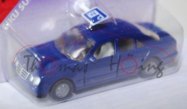 00000 Mercedes-Benz E 230 (Baureihe W 210, Baumuster 210.037, Modell 1995-1998), hell-saphirblau, in