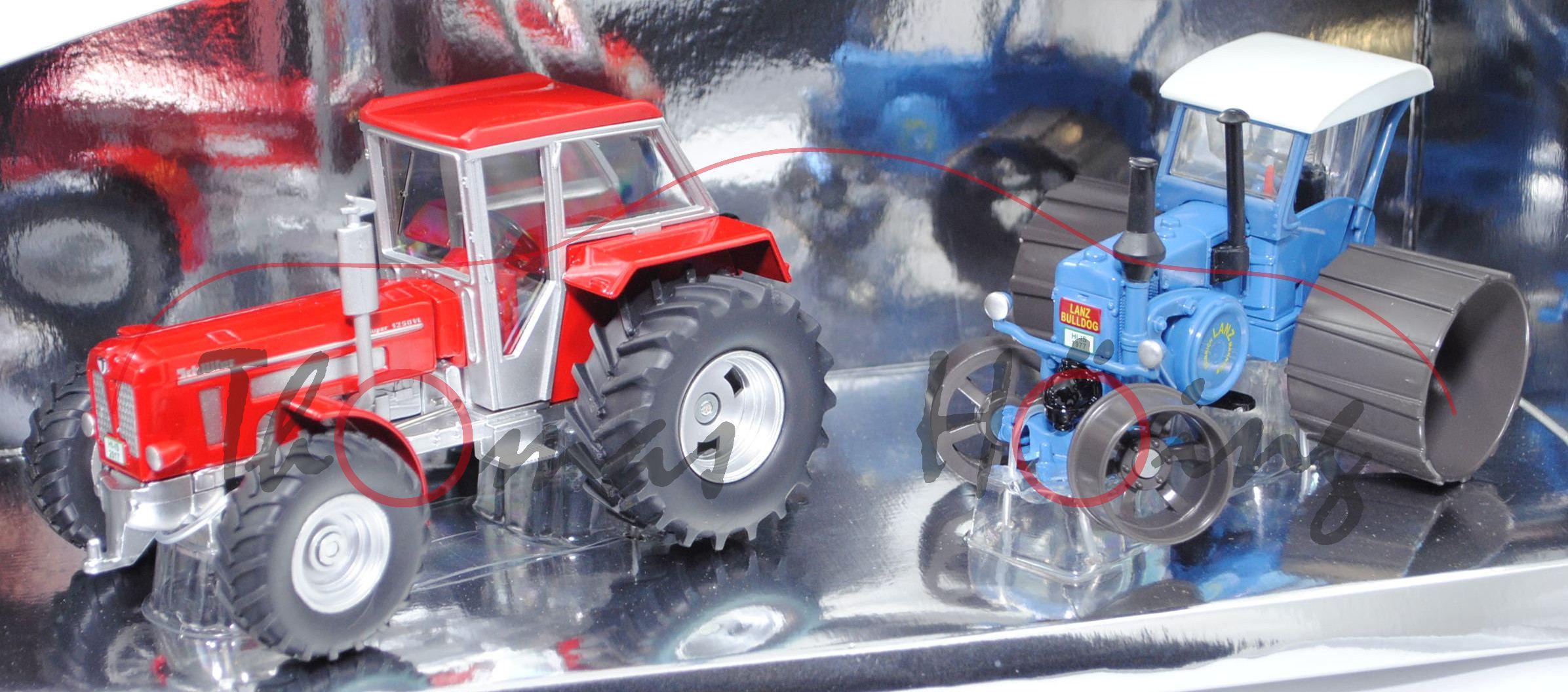 sondermodellset traktor klassiker schl ter super 1250 vl lanz verkehrsbulldog hr8 d9511 mb. Black Bedroom Furniture Sets. Home Design Ideas