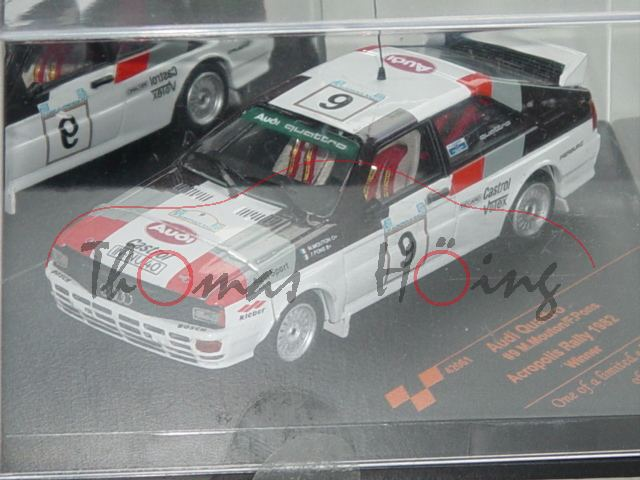 audi quattro wei winner acropolis rallye 1982 m. Black Bedroom Furniture Sets. Home Design Ideas